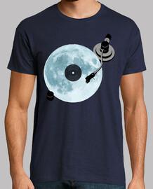 full moon / vinyl / dj / record player