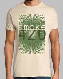 fuma y calla