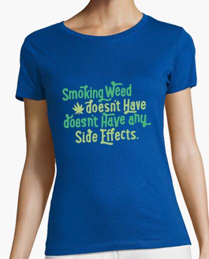 Camiseta fumar marihuana