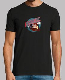 fumée sur t-shirt