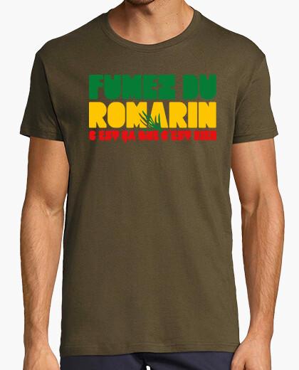 Tee-shirt Fumez du romarin