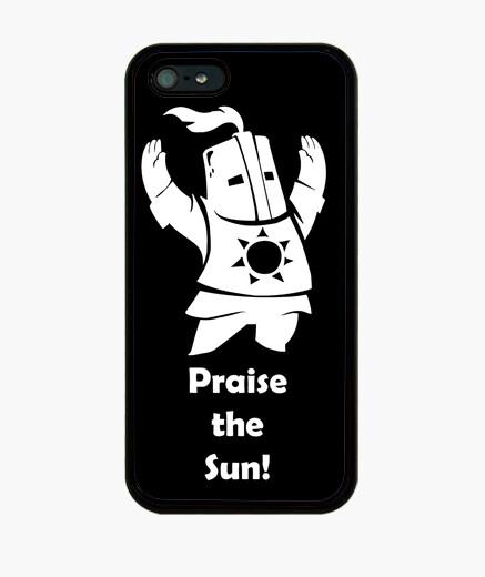 Funda iPhone Funda - Dark Souls - Caballero Solaire - Praise the Sun - iPhone 5