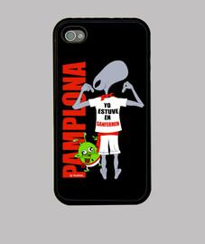 Funda Alien iPhone 4, negra ⭐️⭐️⭐️⭐️⭐️