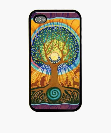 Funda iPhone Funda árbol de la vida