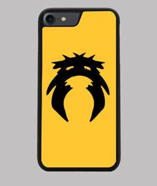 Funda Calavera iPhone 7/8, negra