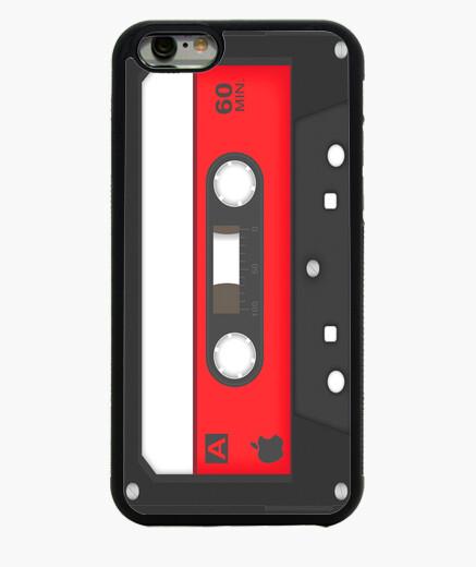 Funda iPhone 6 / 6S Funda Caset Rojo, iphone 6
