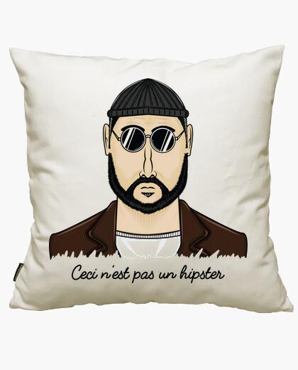 Funda cojín Ceci n'est Pas un Hipster