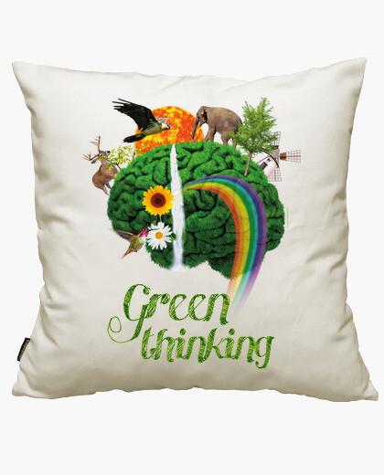 Funda cojín Conciencia verde - Green...