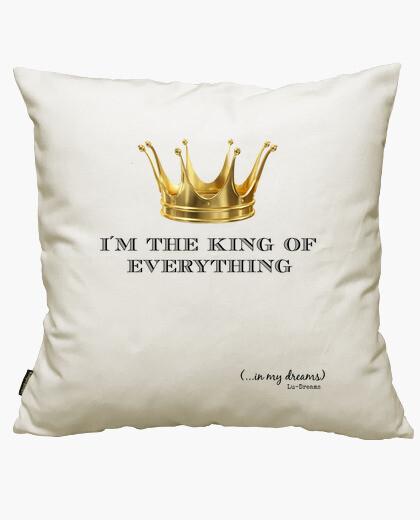 Funda cojín Corona King(Letras Negras)