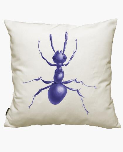 Funda cojín Drawn Purple Ant