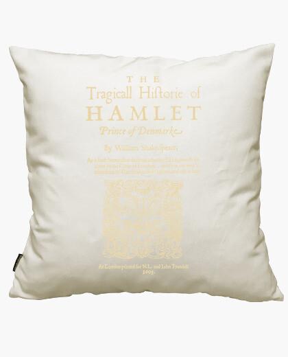 Funda cojín Shakespeare, Hamlet 1603...