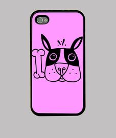 funda conejo rosa
