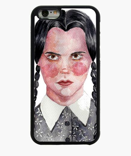 Funda iPhone 6 / 6S Funda de móvil Miercoles Wednesday Addams