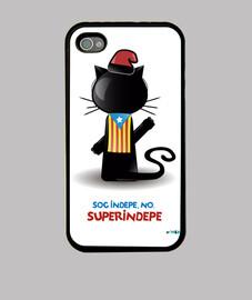 Funda d'Iphone 4 de Super Indepe