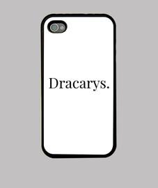 Funda Dracarys iPhone 4, negra