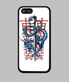 Funda Dragón iPhone 5
