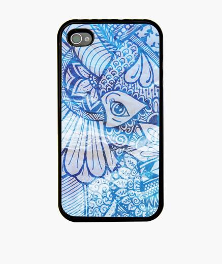 Funda iPhone Funda Elefante azul