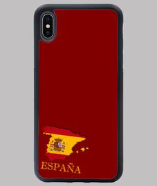 FUNDA ESPAÑA IPHONE XS MAX MAPA 3D BANDERA NOMBRE