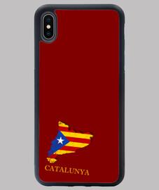 FUNDA ESTELADA IPHONE XS MAX MAPA 3D BANDERA NOMBRE