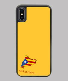 FUNDA ESTELADA IPHONE X/XS MAPA 3D BANDERA NOMBRE