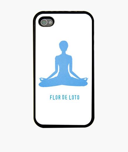 Funda iPhone Funda flor de loto yoga
