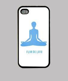 Funda flor de loto yoga