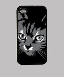 Funda Gato 1 iPhone 4  4S