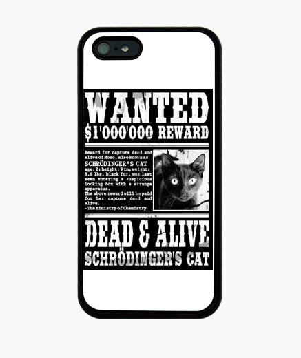 Funda iPhone funda gato schrödinger