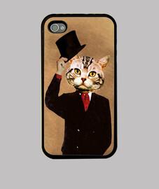 Funda I phone Gato