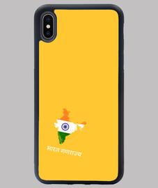 FUNDA INDIA IPHONE XS MAX AM MAPA BANDERA NOMBRE