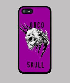 Funda Iphoen Craneo de Orco