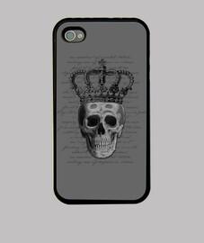Funda iPhone44s Royal Skull