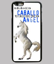 Funda iphone6 PLUS Caballo