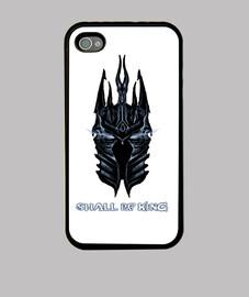 Funda iPhone 4/4S blanca - Lich King