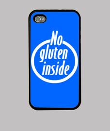 Funda iPhone 4/4S No gluten inside