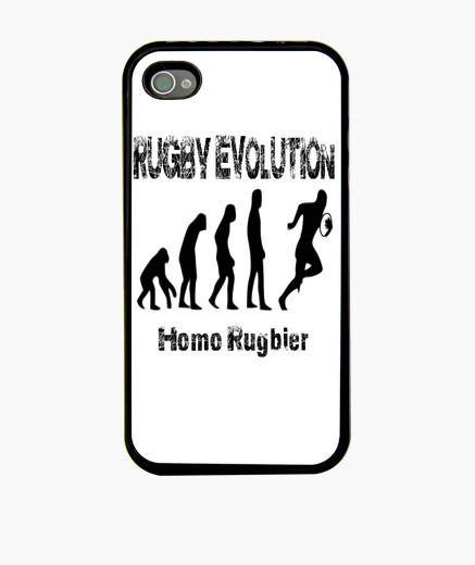 Funda iPhone 44S Rugby evolution