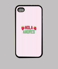 Funda iPhone 4 / iPhone 4S  Fanta de Fresa Saludo