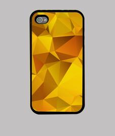 Funda iPhone 4 amarilla