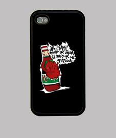 Funda Iphone 4. Apriétame mucho, que salga el jugo que me amarga