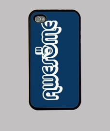 Funda iPhone 4, azul marino