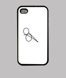 Funda iPhone 4, blanca