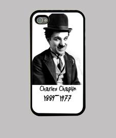 Funda iPhone 4: Charles Chaplin
