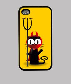 Funda Iphone 4 de Mixu Diable