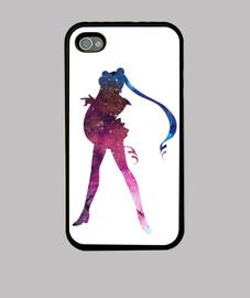 Funda iPhone 4, Galaxy Sailor Moon