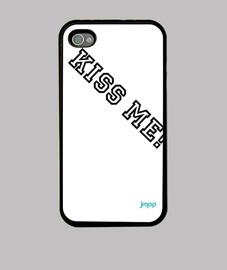 Funda iPhone 4, kiss me