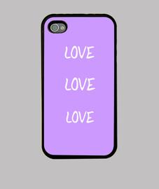 Funda iPhone 4, lila