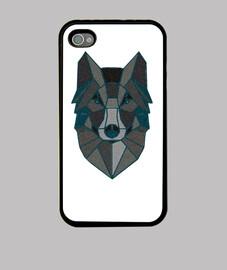 Funda iPhone 4 lobo
