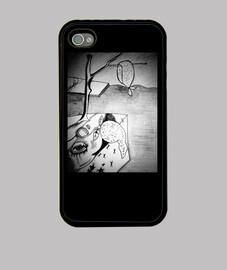 Funda iPhone 4 Lorca,Dali Y Buñuel :)