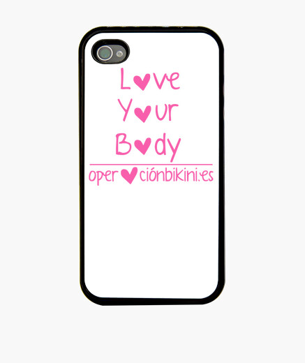 Funda iPhone 4 Love Your Body