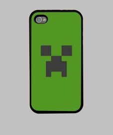 Funda iPhone 4 minecraft creeper